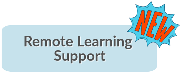 Remote Learning Support Button